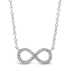 Diamant halsband evighet