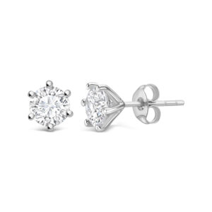 Solitärörhänge diamant